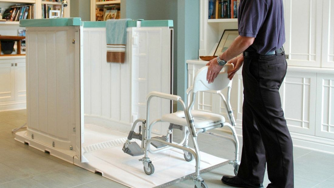 Brilliant What Is The Best Portable Shower For The Elderly Or Disabled Interior Design Ideas Tzicisoteloinfo